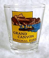 "Shot Glass Shooter GRAND CANYON National Park River Raft 2-1/4"" Jigger MAFCO"