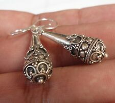 925 Solid Silver Bali Traditional Earing Style-H90
