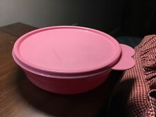 Tupperware Cereal Bowl  2415A Rose Pink VGUC