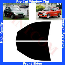 Pre Cut Window Tint Daihatsu Sirion Hatchback 5D 1998-2005 Front Sides Any Shade