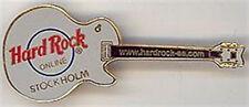 Hard Rock Cafe STOCKHOLM www.hardrock-se.com GUITAR PIN