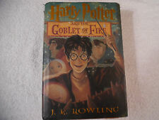 Harry Potter and the Goblet of Fire Rowling First American Edition 50-2E