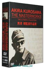 NEW AKIRA KUROSAWA The Masterworks The Ultimate Collection 18DVD English Subs