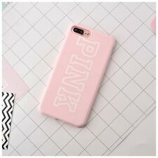 Cute Sweety Candy Pink Lucky 7 Pattern Soft Case Cover for iPhone 6 6S 7 Plus