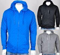 Mens Hoodie Long Sleeves Casual Jacket Pullover Hooded Pocketed Sweatshirt UK
