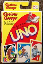 Curious George UNO Card Game Only Missing Instructions RARE