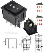 Wipptaster, Wippschalter EIN-AUS-EIN Schalter DPDT 6P Einbauschalter #101
