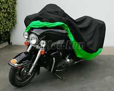XXXL Green Motorcycle Cover For Honda Gold Wing GL1100 1200 1500 1800 Touring