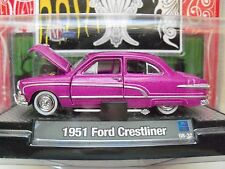 M2 MACHINES - AUTO-DREAMS - 12 DAYS OF CHRISTMAS 2008 - 1951 FORD CRESTLINER