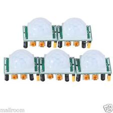 5X HC-SR501 IR Pyroelectric Infrared PIR Motion körper Sensor Detector Modules