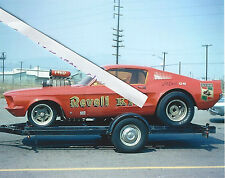 "1960s NHRA Drag Racing-""Revell KIT""-Gasser-AA/Gas Supercharged Mustang-Skip Hess"