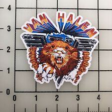 "Van Halen Lion 4"" Wide Vinyl Decal Sticker BOGO"