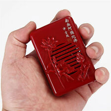 Lotus Mini Buddhist Pray Scriptures Music Machine With 6 Kind Buddha Songs Red