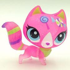 #3573 Littlest Pet Shop standing Short Hair cat LPS toys original EUROPEAN 2''-1