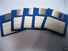 "Original Software Quattro Pro Beta Version deutsch  /  5x 3,5"" Diskette"