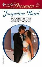 Baird, Jacqueline .. Bought By The Greek Tycoon