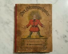 1870s Der Struwwelpeter in The Original German-Thick Card Stock Pages!