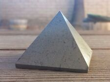 NATURAL HEMATITE LARGE GEMSTONE PYRAMID 51mm [6]
