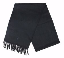 Ralph Lauren - Black Cashmere Scarf - One Size - *NEW WITH TAGS* RRP £140