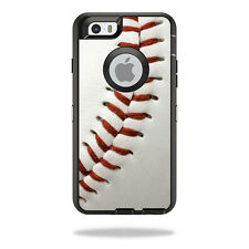 Skin Decal Wrap for OtterBox Defender iPhone 6/6S Case Baseball