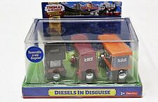 DIESELS IN DISGUISE Thomas Tank Engine WOODEN Railway NEW IN BOX