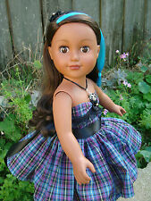 "2013 Cititoy Doll African American, 18"" Tall, very cute!!"