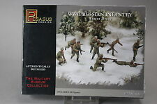 YH071 PEGASUS HOBBIES 1/72 maquette figurine 7269 Russian Infantry Winter Dress
