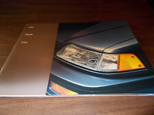 1989 Honda Civic Sales Catalog