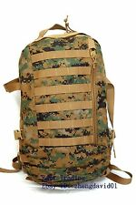 New Gen 2 USMC Digital MARPAT ILBE 3 Day Assault Pack Military Issue Woodland