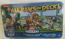 Nickelodeon All Paws On Deck Puzzle Panorama 2014 MIB Metal Tin NewSealed 63 Pcs