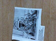 T1-2 ephemera  1960s picture gubbio crossbowmen's competition