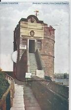 Postcard - Phoenix Tower Chester Cheshire posted 1924 opening card pics inside