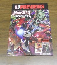 Marvel Previews Monsters Unleashed #1 (2017) near mint comic