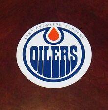 Decals / Sticker  Edmonton Oilers logo  1970's - 80's # 1