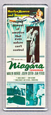 NIAGARA movie poster LARGE FRIDGE MAGNET - MARILYN MONROE