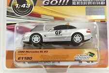CARRERA GO 61180 AMG MERCEDES SAFETY CAR W/LIGHTS NEW 1/43 SLOT CAR IN DISPLAY