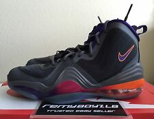 Nike Air Max Penny V 5 GS Phoenix Suns Dark Grey Youth Sz 5Y/ Women's Sz 6.5 NEW
