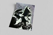 ACEO Banksy Batman Arrest Graffiti Street Art on Canvas Giclee Print
