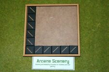MDF laser cut MOVEMENT TRAY (6×6) 25mm Infantry Bases