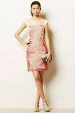 NWT Anthropologie Ajna Stitched Sheath Dress by Weston Wear Large
