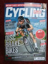 LATEST CYCLING PLUS MAGAZINE, AUGUST 2016, CERVELO R3GIANT DEFY SLO TESTS~ MINT