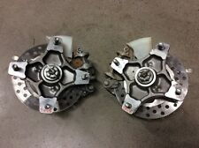 HONDA TRX250R 250R 400EX FRONT END UPDATE KIT WHEEL HUBS SPINDLES BRAKES GREY