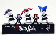 "Gary Baseman's Wild Girls Black ""Bad Girls"" Set"