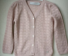 Christian dior baby pink sparkle cardigan 2 ans