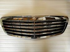 For Mercedes Benz S Class W221 Assembly Grille Grill Chrome Frame 2007 - 2009