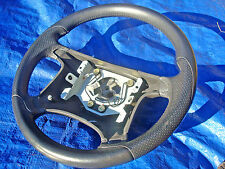 95-03 Volvo S40 V40 T4 Dark Grey Perforated Leather  Steering Wheel Rare!!!