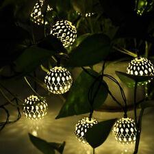 2meter 20. lampen marokko ball batterie kasten lampe string party zu hause dekor