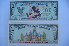 "1999 DISNEY MICKEY MOUSE ONE DOLLAR - SERIES  ""A"""