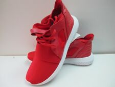 Mens Adidas Tubular Defiant Red White Trainers UK 7.5 EUR 41.5