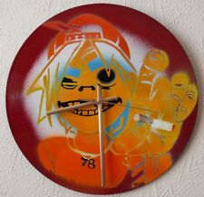 GORILLAZ  clock,,BLUR,Beastie boys,DAFT PUNK,eminem,oasis.glastonbury,pop art